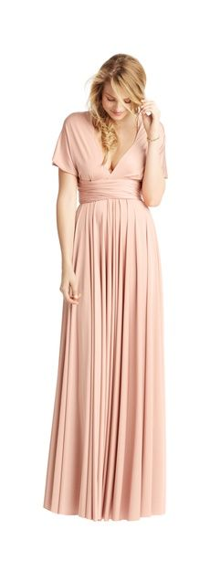 Incredible find for Bridesmaids dresses! One dress, so many options for every body shape!