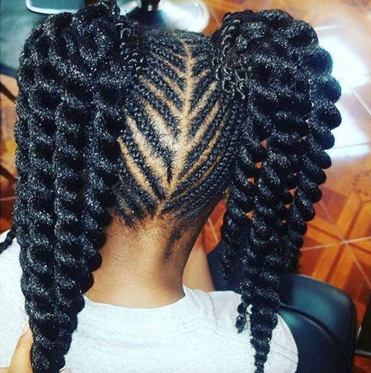 Pleasant 1000 Ideas About Black Kids Hairstyles On Pinterest Kid Short Hairstyles For Black Women Fulllsitofus