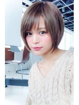**GemGarden**5分で簡単セット☆ピンクアッシュショートヘア - 24時間いつでもWEB予約OK!ヘアスタイル10万点以上掲載!お気に入りの髪型、人気のヘアスタイルを探すならKirei Style[キレイスタイル]で。