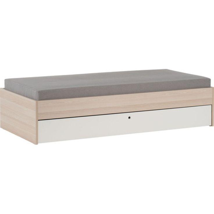 SPOT Säng med utdragbar extrasäng underHöjd: 42 cm, bredd: 92 cm, längd: 204 cm.OBS! Madrasser säljs separat. Madrassbredd: 90 cm.Basmaterial: M