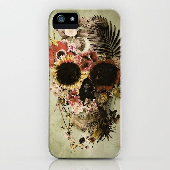 Garden Skull Light iPhone & iPod Case
