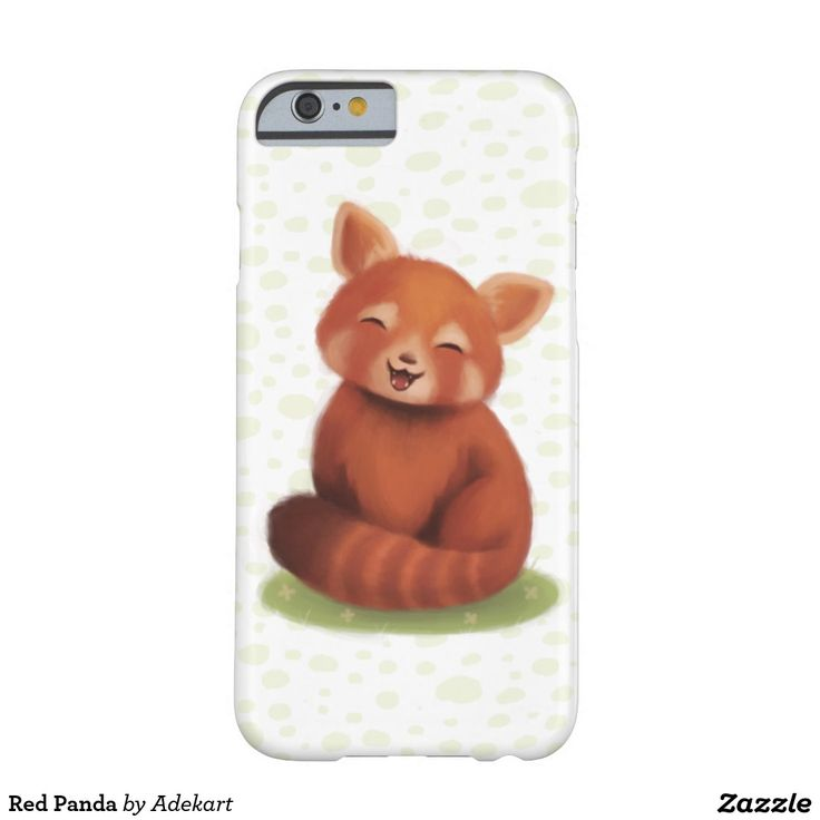 Red Panda Barely There iPhone 6 Case