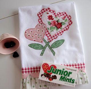 Kitchen Towels ~ PamKittyMorning ~ January 2010