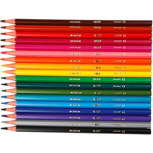 Evolution värikynät, 3 mm, pit. 17,5 cm, 18 laj., värilajitelma