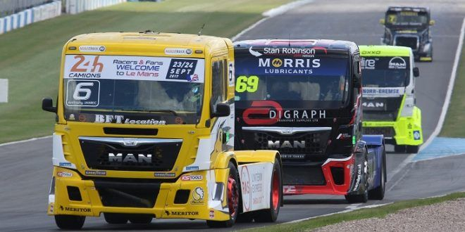 Convoy in the Park to return to Donington Park on 21-22 July
