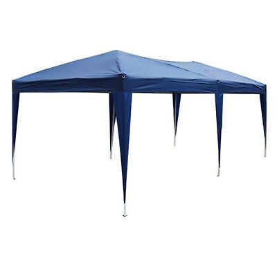 10'x 20' Wedding Party Tent  Easy Pop Up Canopy Gazebo OutdoorShelter Cover Blue