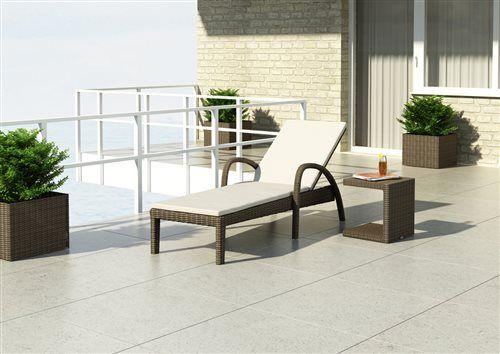 prirucny stolik z umeleho ratanu s lehatkom pieskovy