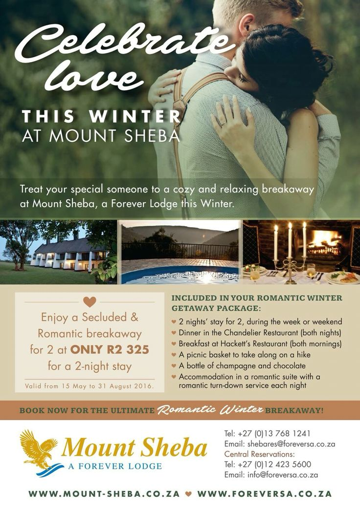 Don't be left in the cold this winter. Visit @mountsheba! Our packages & log fires will warm you up!!