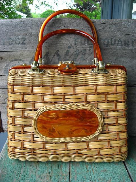Wicker Handbag