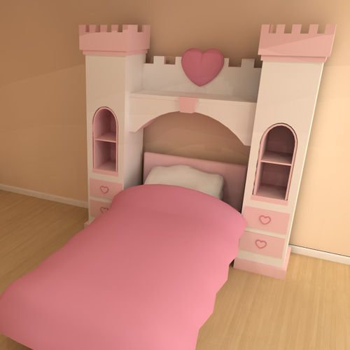 Princess over bed storage castle Over bed storage unit from our luxury princess range is an ideal storage solution for your little ones room This unit goes