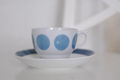Arabia kahvikuppi, dec design Esteri Tomula