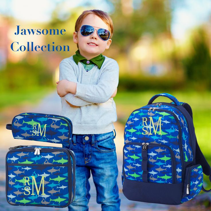 BOYS personalized backpack , Back To School , kids back pack , lunch box,  monogrammed backpack , BOYS backpack, jawsome by FallenStarCoutureInc on Etsy https://www.etsy.com/listing/521588070/boys-personalized-backpack-back-to