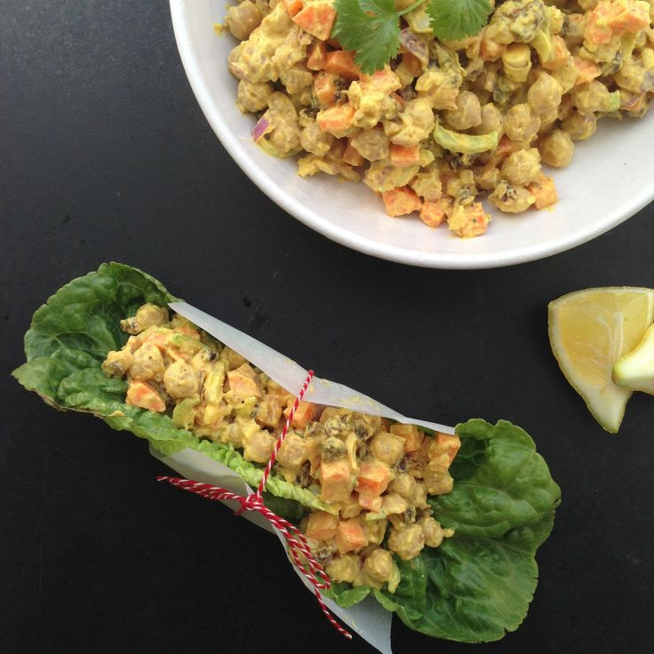 kikærte karry salat