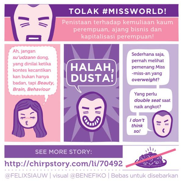 Brain, Beauty, Behaviour? Halah dusta! - Felix Siauw | #TolakMissWorld