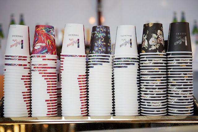 Vittoria coffee, paper cups
