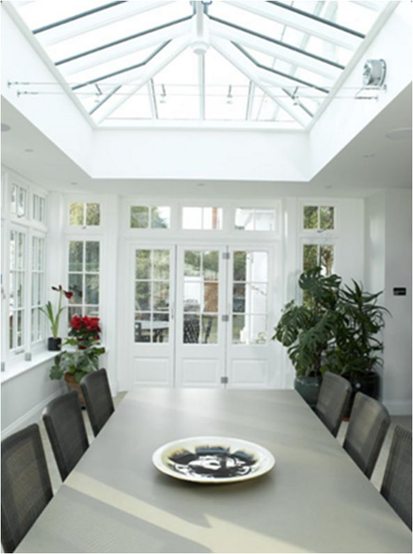 Featuring Pilkington Activ™ Clear, this Edgbaston Orangery benefits from both solar control and self-cleaning properties. Installer Harborne Sash Window Company.