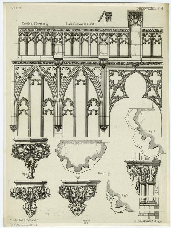 Дизайн - готические