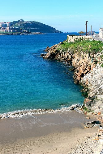 Playa de matadero (A Coruna,Spain)