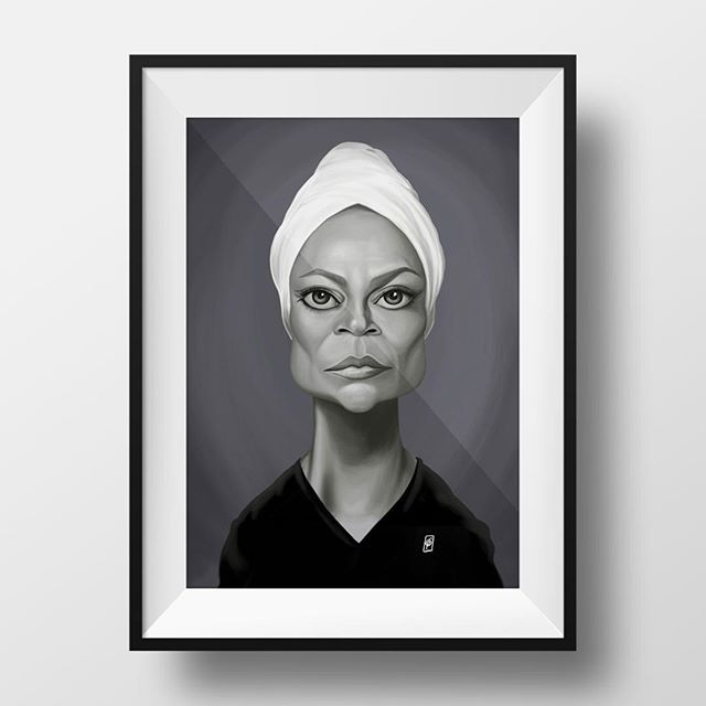 Happy Birthday Eartha Kitt!! copyright  Rob Snow | creative 2018  #art #artist #artwork #artoftheday #illustration #photoshop #portrait #great #earthakitt #digital #digitalart #digitalpainting #caricature #face #birthday #funny #color #robart #robsnowcreative #sketch #draw #drawing #painting #painter #illustrator #wacom #humor #instaartist #instaart instagram | art | ideas | follow