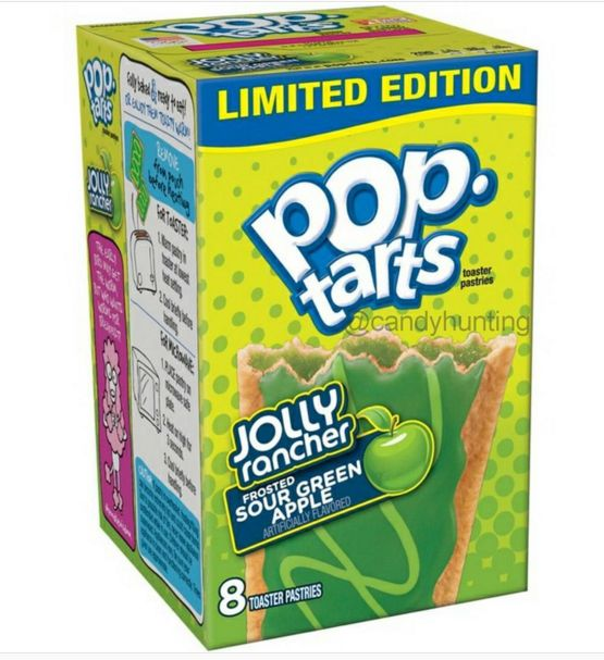 Pop Tarts Jolly Rancher Sour Green Apple