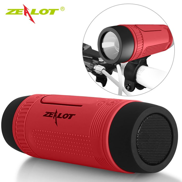 Zealot S1 Bluetooth Speaker Outdoor Bicycle Portable Subwoofer Bass Speakers Home Theater Party Speaker Sound System 3D stereo
