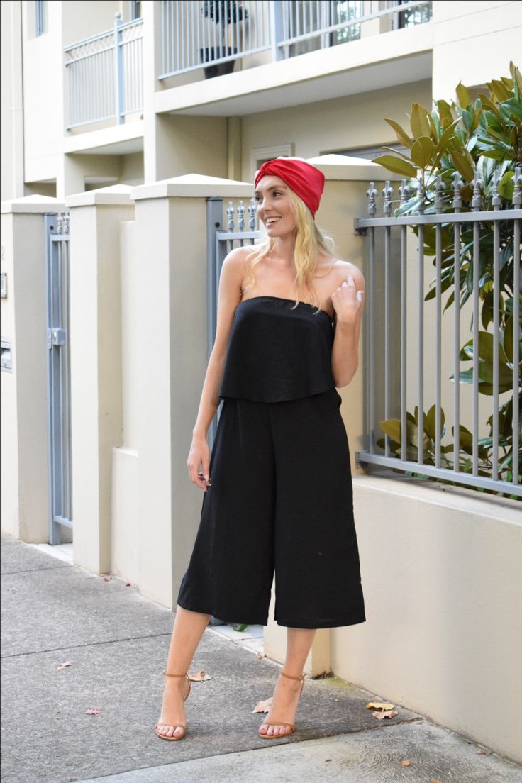Jumpsuit from Petal & Pup and head band from Zara