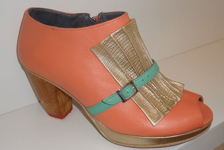 Botines, venta de zapatos y bolsos en línea, cuero, Camomille, Caduto