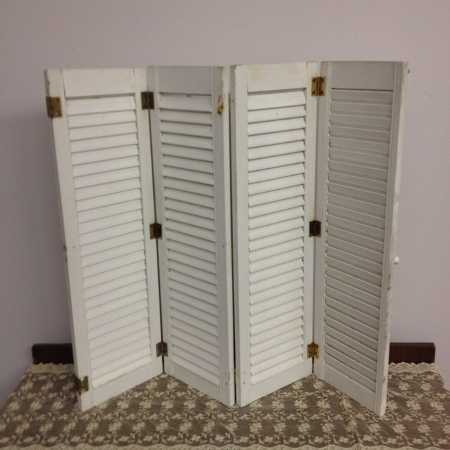 Beautiful Mini Shutters. Just Picked Up 12 Of These For A Dollar Each.