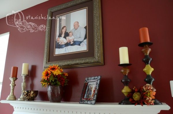 everyday mantel ideas | My obsession with mantel decorating all began with this…. (yeah, I ...