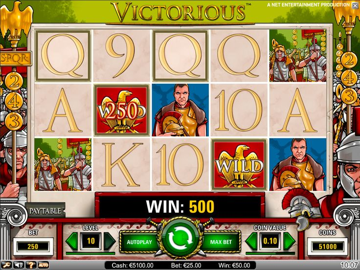 Victorious video slot is available for #play - https://www.wintingo.com/