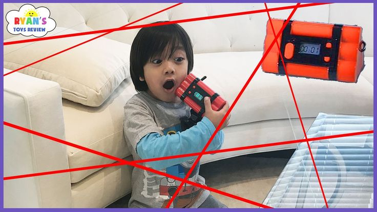 Spy Kid Laser in the House Chrono Bomb Game! Family Fun Activities for Kids with Ryan ToysReview! - WATCH VIDEO HERE -> http://philippinesonline.info/trending-video/spy-kid-laser-in-the-house-chrono-bomb-game-family-fun-activities-for-kids-with-ryan-toysreview/   Spy Kid Laser in the House Chrono Bomb Game challenge with Ryan ToysReview! This kids toy Bomb in the House game is such a family fun activities for kids! Kids and adult will have fun trying to defuse the bomb befor