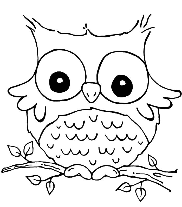 son of funny grieving owl coloring pages owl coloring pages - Free Pictures To Color
