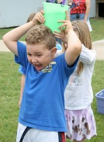 Water bucket games and other field day activities