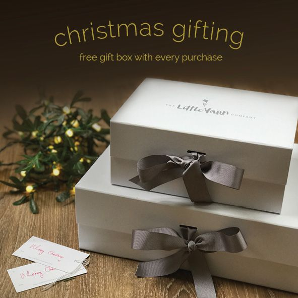FREE gift box with every purchase.  Christmas gifting made easy...