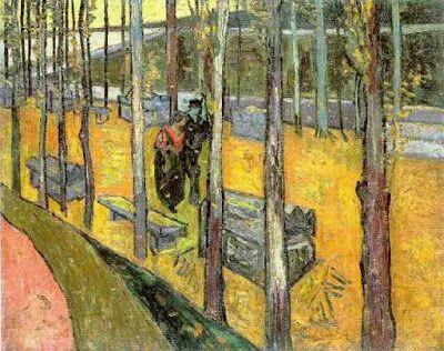 V. Van Gogh, Φθινοπωρινά φύλλα στο έδαφος. 1877. Ιδιωτική Συλλογή.
