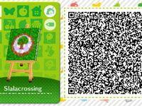 "Les qr codes Thème ""amiibo festival"" : Amiibo Festival Pattern Set #5"