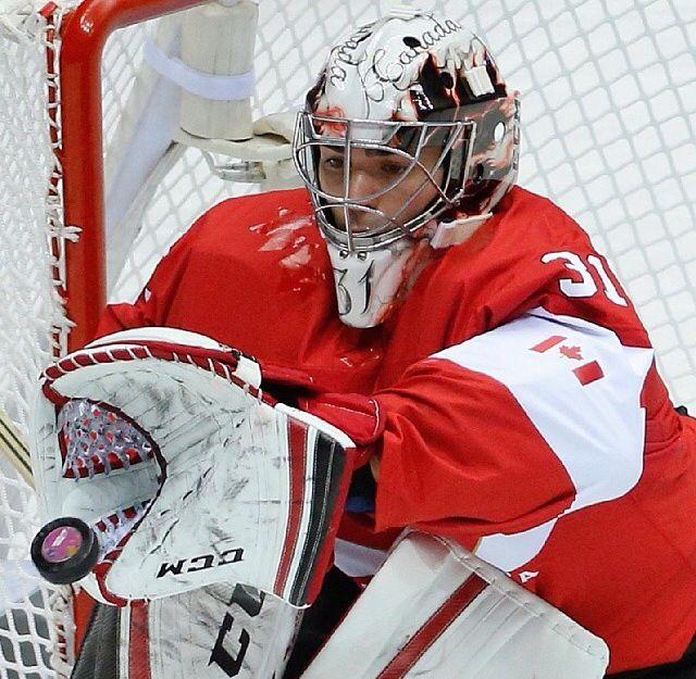 Carey Price. Team canada. Men's hockey. Sochi 2014 Olympics.