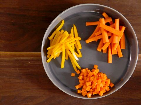 How to Julienne and Dice