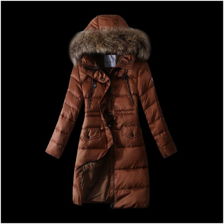 Soldes moncler doudoune manteau femme fourrure café boutique officiel