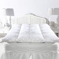 Finally getting a QVC Northern Night feather bed for the guest room. Loved the one I left in the US.