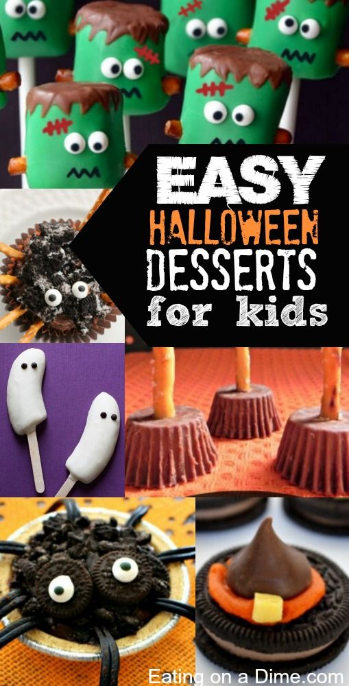Easy Halloween Desserts For Kids School Treats Kid And