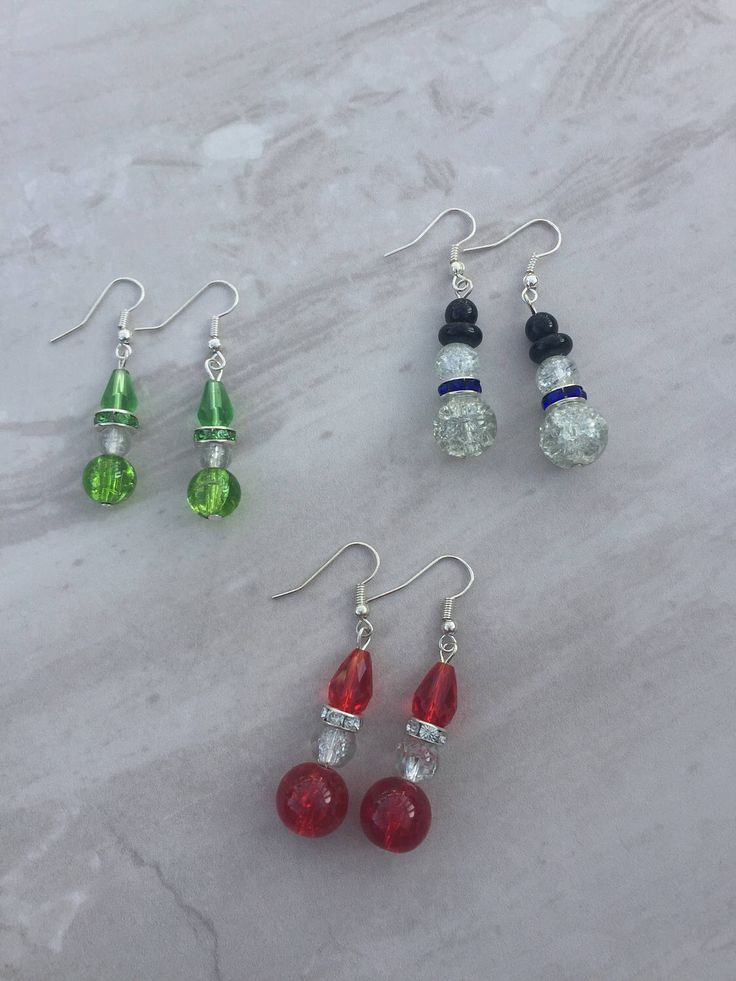 A personal favourite from my Etsy shop https://www.etsy.com/uk/listing/252178560/christmas-earrings-santa-earrings