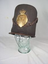 Original Waterloo Period British Officers Belgic 1812 Pattern Shako LI/Rifles