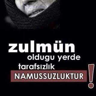 """Önder KARAÇAY: """"Zulmün olduğu yerde tarafsız olmak da, zulmün tar..."""