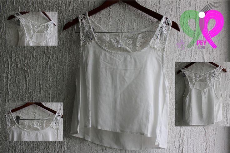 Lindo crop top!!! Lo que le hace falta a tu outfit de este otoño 2014. Sólo lo mejor en moda lo encontrarás en... www.facebook.com/PEY.ALFA.Accesorios