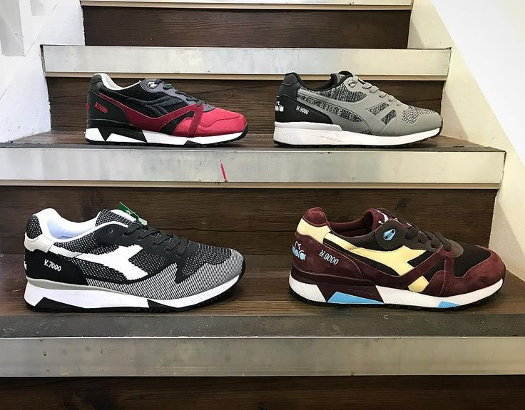 Classic running silhouettes in fresh colours for the AW17 season from @diadoraofficial_uk. In store now and also available via our website.  #diadora #running #shoes #trainers #sneakers #sneakerhead #igsneakercommunity #igsneakers #n9000 #v7000 #feetheat #complexkicks #kicksonfire #kicksoftheday #philipbrownemenswear