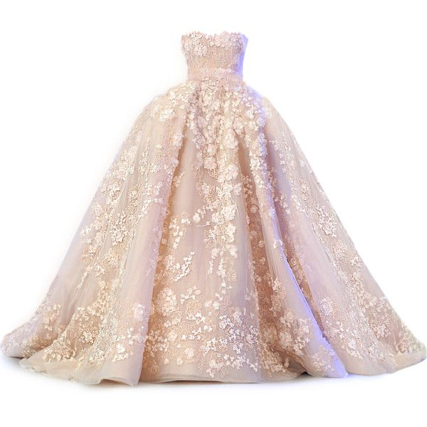satinee.polyvore.com - Elie Saab SS 2014 ❤ liked on Polyvore featuring dresses, gowns, vestidos, long dress, elie saab evening gowns, pink evening dress, elie saab gowns, masquerade ball gowns and henley dress