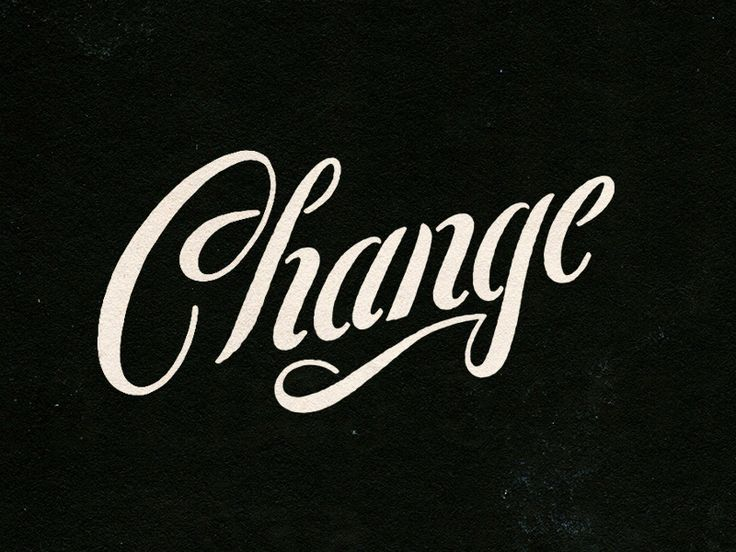 Change by Nathan Yoder