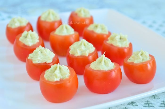 pesto roomkaas tomaatjes 2a