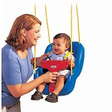 Little Tikes - 2-in-1 Snug 'n Secure Swing